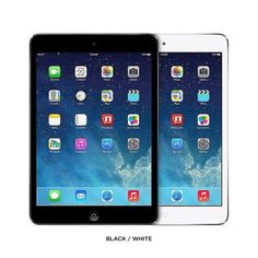NEW! Black Apple iPad mini 64GB with WiFi and 4G Cellular Black. Unlocked for All Networks.