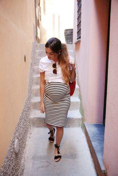 Summer pregnant fashion