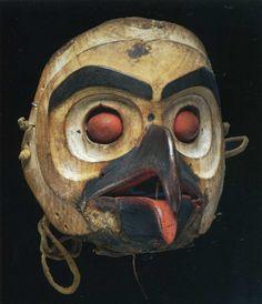 Mask Notthwest -Pacific coast possibly Haida.