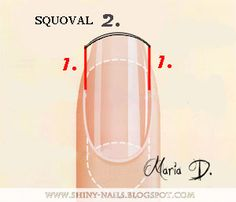 squoval nails pictures | Shiny-Nails by Maria D.: Nail Shape : Squoval