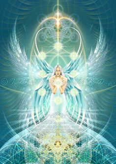 Sandalphon by Kim Dreyer Angel Pictures, Archangel Sandalphon, Archangel Uriel, Angels Among Us, Angels And Demons, Cosmic Art, Ascended Masters, Angel Arcangel, Visionary Art