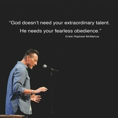 Image result for erwin mcmanus when you go out into the woods to worship