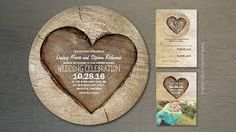 Image result for rustic wedding invitations