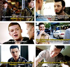 Ian & Mickey + Boyfriends.