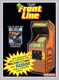 Front Line for Colecovision Box Art