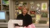 Martha Stewart sews a double sided, fleece blanket with playful appliques for the youngest member of any family.