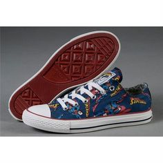 Converse Chuck Taylor DC Comics- Superman Low - Shipping Cap Promotion- - TopBuy.com.au