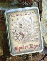 OLD BLACK WIDOW'S TIN