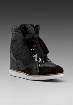 JEFFREY CAMPBELL Venice in Black/Snake at Revolve Clothing - Free Shipping!
