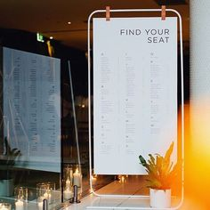 We loved getting to design and create this seating chart for one of our own…