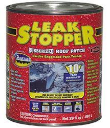 Leak Stopper® 0318-GA - 1 qt. Rubberized Roof Patch - 10 year