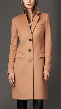 The ultimate camel, Wool Cashmere Coat | Burberry