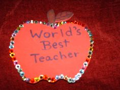 Your can give their teacher a present with an by CelestialStudio13, $6.00 Best Teacher, Teacher Gifts, Key Rings, Magnets, Handmade Jewelry, Presents, Canning, Books, Christmas