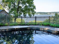 Great Safety Fence & Swimming Pool at Diane Sawyer's New York Home Will Transport You To Provincial France