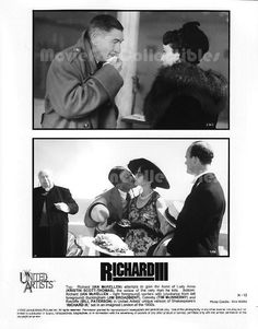 Richard III Press Photo Kristin Scott Thomas, Ian McKellen