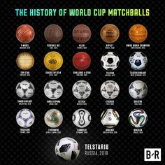 A new addition to the long list of World Cup balls❤️ 👉Which is your favourite👈 Neymar Football Boots, Fifa Football, Football Themes, World Cup 2018, Fifa World Cup, Football Records, World Cup Logo, France Football, Barcelona Team