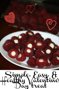 Simple, Easy and healthy Valentine's Day treat