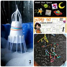 18 Activities for a Space Theme - Fun-A-Day!