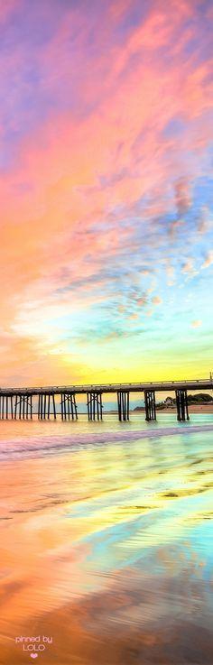 Sunset at Malibu, CA