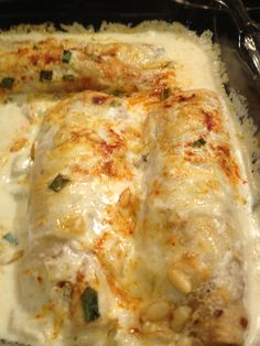 Lobster Enchiladas with Cyclone Anaya's Chardonnay Sauce | scroll down for recipes | lovinthesimplelife.com