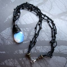 Eye of a Wight Necklace - Game of Thrones Jewelry (Song of Ice and Fire) by Futuregirl_LeahRiley, via Flickr
