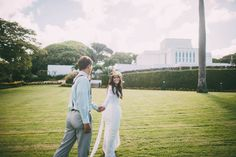 LDS wedding... Laie Hawaii Temple...the perfect place laie temple, close family and friends welcome