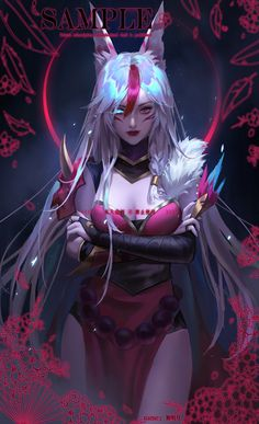 Katarina League Of Legends, Akali League Of Legends, League Of Legends Characters, Lol League Of Legends, Fantasy Character Design, Character Design Inspiration, Character Concept, Character Art, Cool Anime Girl