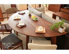 マルミヤ 半円ダイニングテーブルのメイン写真
