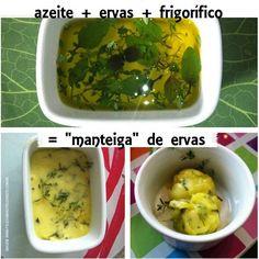 """""""Manteiga"""" de ervas"""