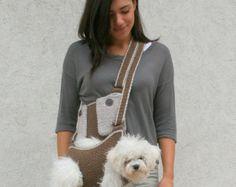 Portador del animal doméstico / del perro ganchillo por BubaDog