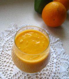 Koktajl z pomarańczą i awokado.  Smoothie with orange and avocado. #Koktajl #pomarańcza #awokado #cocktail #orange #avocado #zdrowy #przepis #blogszybkiegotowanie  #smoothie #vegetarian #vege #veganfood #weganskie #veganfoodshare #healthyeating #healthly #healthlyrecipes #fit #diet #glutenfree #wegańskie #wegetariańskie #bezglutenu #bezglutenowe #goji #jagodygoji by szybkiegotowanie