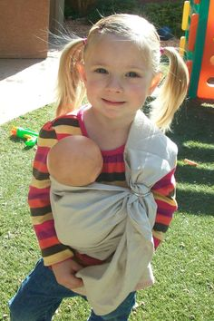 Baby Doll Sling Carrier on Etsy, $12.00