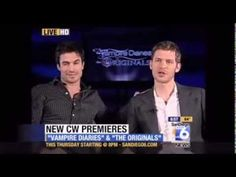 Ian Somerhalder & Joseph Morgan interview 10/2/13...I love these 2 together!! When Ian was asked about breakup with costar, Joseph jumped in with a funny answer!!!