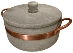 I picked up one of these in Galena, IL  on vacation.  I love it.  It keeps food warm a long time and is so beautiful.