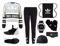 """""""Decked Out in Adidas"""" by ballereyna ❤ liked on Polyvore featuring adidas Originals and adidas"""