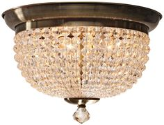"Crystorama Newbury Collection 15"" Wide Ceiling Light -"