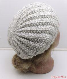 """Вязание шапочки """"Полька"""" - Вязание для всей семьи - Страна Мам"""