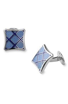 David Donahue Sterling Silver Cuff Links available at #Nordstrom