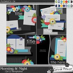Connie Prince Morning & Night - 12x12 Temps (CU Ok)