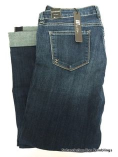 Kinda grooving on the Kut From the Kloth Kate distressed boyfriend jeans someone got in their stitch fix box...