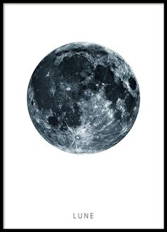 A beautiful poster of the moon. A clean but very nice poster that goes well in a stylish Scandinavian decor. Put it in a frame, a clip or maybe in a poster-hanger? Looks just as good no matter what you choose! www.desenio.co.uk