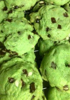 Grinch Cookies Recipe ~ Fluffy Sugar Cookies!
