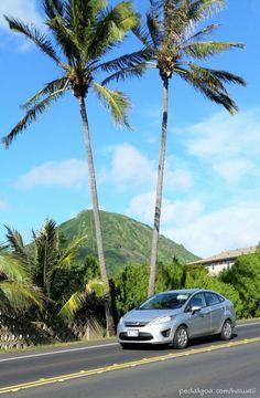 Road trip in Hawaii around the island of Oahu