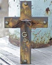 repurposed cross, love it!