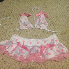 Brand-new two-piece rave outfit Never been worn Other