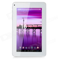 "R70KB 7"" LCD Dual Core Android 4.2 Tablet PC w/ 1GB RAM, 8GB ROM, 3G, Wi-Fi, TF - White   Orange Price: $73.57"