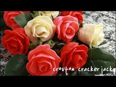 Chocolate Covered Strawberry Roses for Valentine's Day!! - YouTube