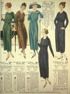 1920s winter clothing http://vintagedancer.com/1920s/1920s-winter-fashion-dresses-clothing/