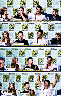#TeenWolf SDCC 2016 - I'm gonna miss this show something fierce. Still so sad Dylan couldn't be there with his Teen Wolf family... Especially because this is last season… And is this really the first year Dylan won't be at SDCC??