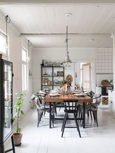 'Hygge' dining space